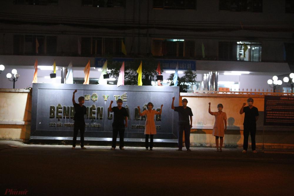 Bệnh viện C Đà Nẵng thời khắc gỡ lệnh phong tỏa