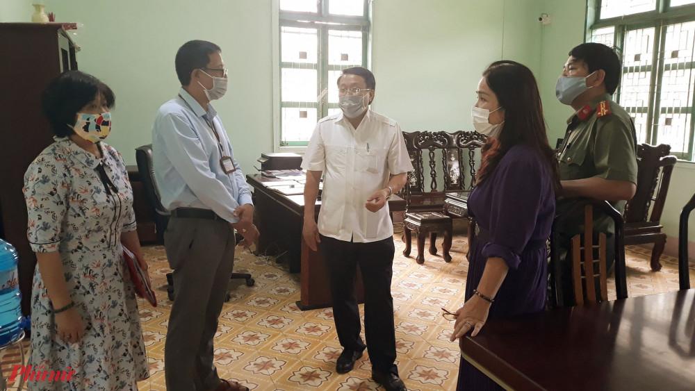 Ban chỉ đạo thi THPT 2020 tỉnh Quảng Trị kiểm tra công tác ti tại trường THPT Dakrông