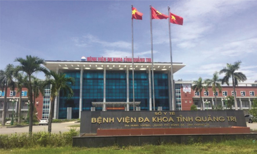 Phong toả khu vực tầng 6, toà nhà G Bệnh viện đa khoa tỉnh Quảng Trị
