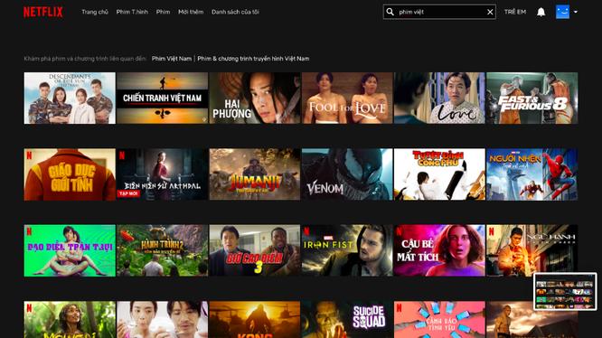 Netflix công bố giao diện và phụ đề tiếng Việt cho người dùng tại Việt Nam tháng 10/2019
