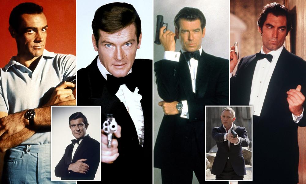 Những diễn viên đã từng đóng James Bond.