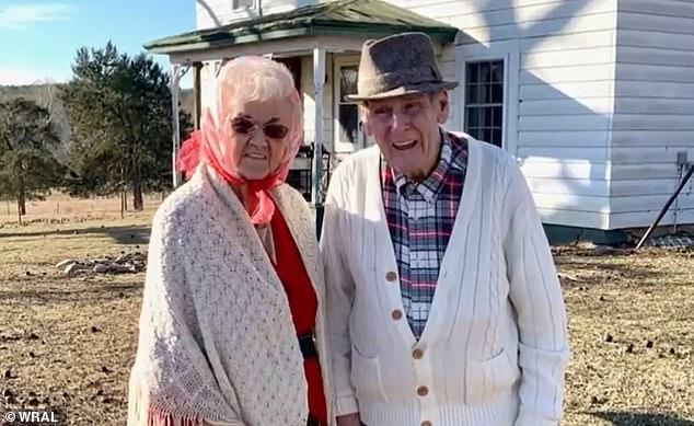 Bà Kathleen Atkins và ông Richard Atkins sống bên nhau 70 năm