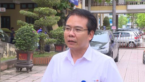 Bác sĩ Lại Đức Trí - Phó Giám đốc Bệnh viện Đa khoa tỉnh Thái Bình.