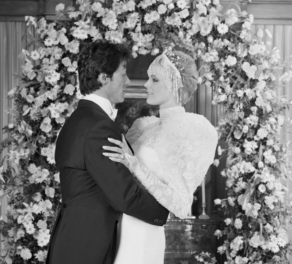 Sylvester Stallone và Brigitte Nielsen năm 1985