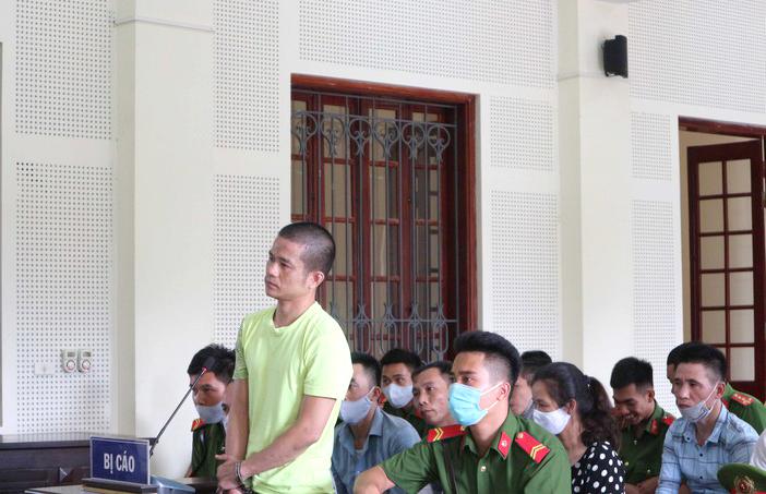 Bị cáo Sơn tại phiên tòa