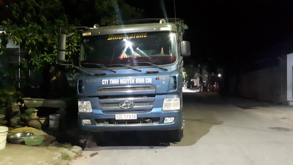 Theo trích xuất thông tin từ thiết bị giám sát hành trình của Thanh tra Sở Giao thông Vận tải thì xe này  đi từ Quảng Nam