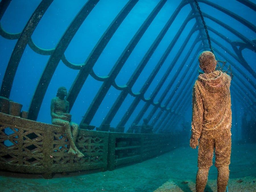 Bảo tàng dưới nước đầu tiên ở Nam bán cầu