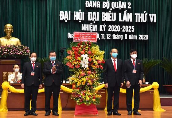 Đại hội đại biểu Đảng bộ quận 2 tổ chức sáng 11/8 (ảnh: SGGP)
