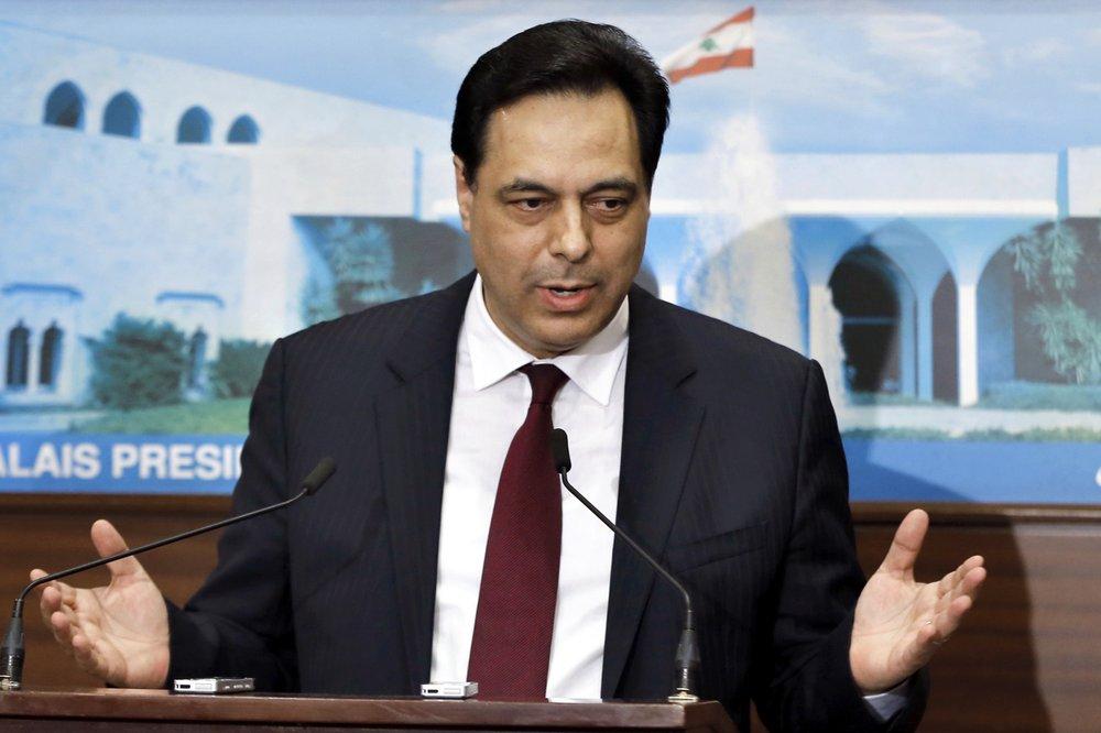 Thủ tướng Hassan Diab tuyên bố từ chức.