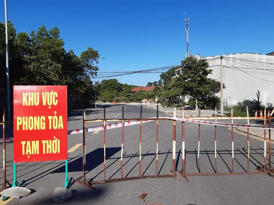 Cách ly tại khu phố 2, phường Đông Giang, TP Đông Hà