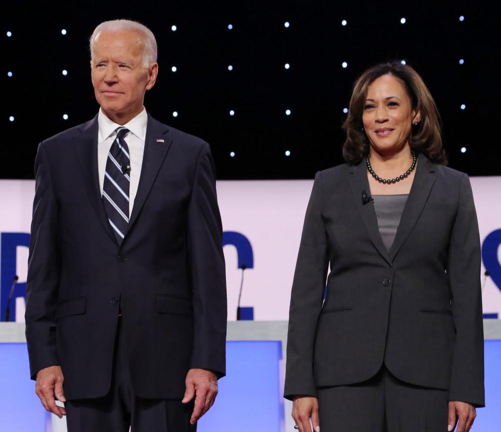 v\Bà Harris, mộtđồng minh đáng tin cậy của đảng Dân chủ, được coi là lựa chọn an toàn nhất dành cho ông Biden trong cuộc tìm kiếm phó tổng thống