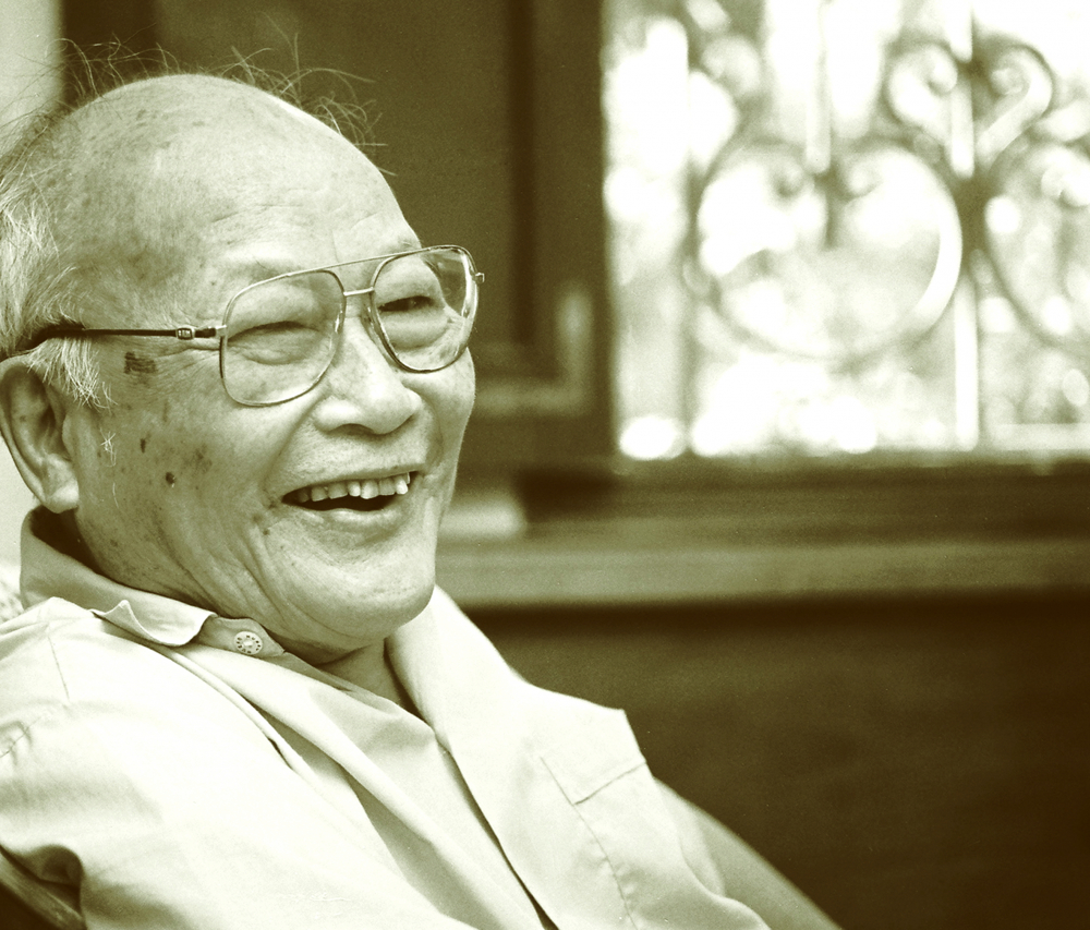 Nhà văn Tô Hoài - Ảnh: Nguyễn Đình Toán