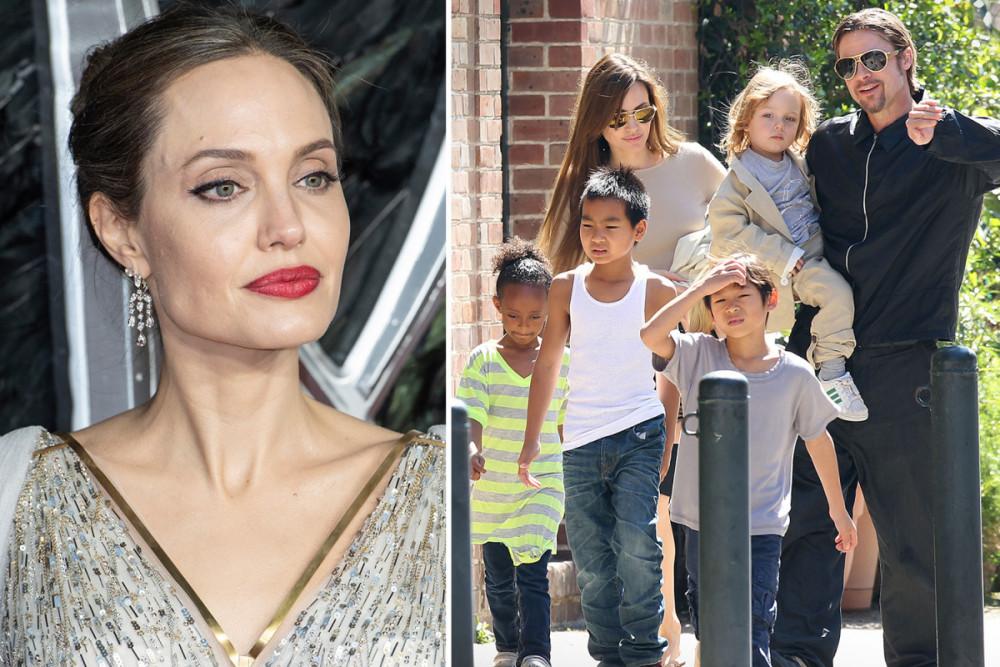 Angelina Jolie đang tìm cách hoà hoãn vụ ly hôn vì có thể Brad Pitt sẽ thắng.