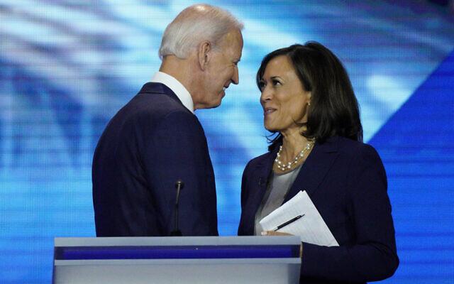 Mối quan hệ của ông Biden và bà Harris ban đầu không mấy tốt đẹp