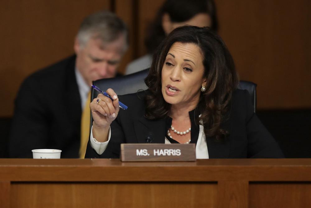 Kamala Harris tại Thượng viện
