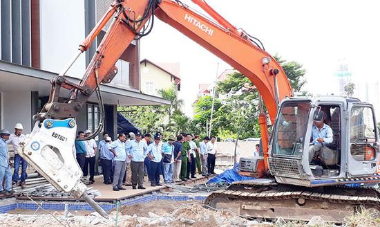 Kiến nghị Thủ tướng thí điểm thành lập Đội Quản lý trật tự xây dựng