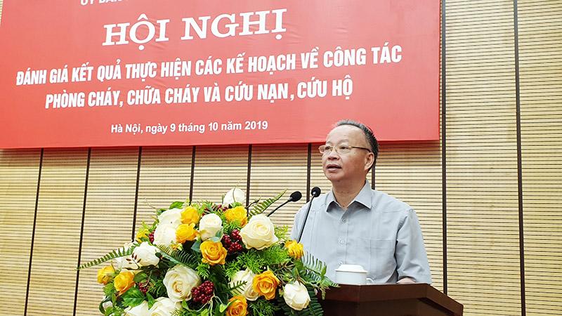 Ông Nguyễn Văn Sửu - Phó Chủ tịch thường trực UBND TP Hà Nội.