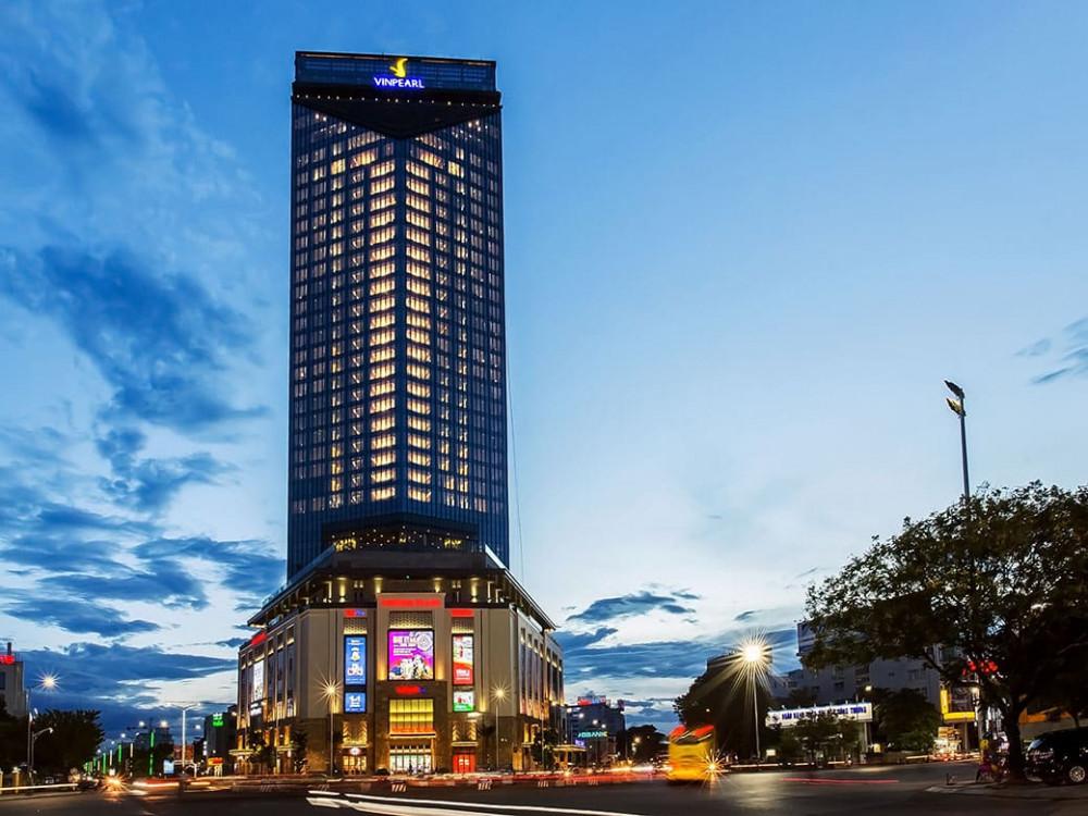 Khách  sạn Vinpearl địa chỉ 50 A Hùng Vương TP. Huế là nơi 7 đối tượng người Trung Quốc kahi tạm trú