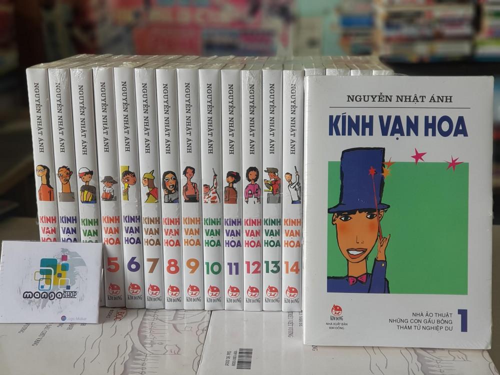 Bộ sách Kính vạn hoa của nhà văn Nguyễn Nhật Ánh được nhiều thế hệ thiếu nhi yêu thích