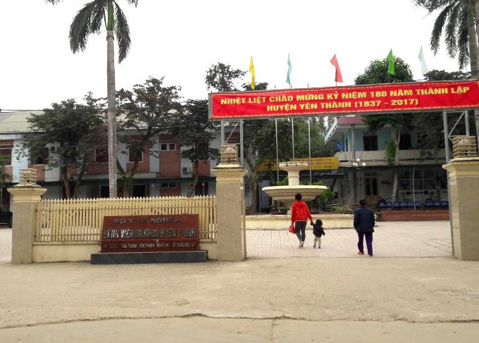 Bệnh viện Đa khoa huyện Yên Thành