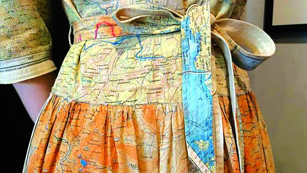 Các tấm bản đồ từng được trang bị cho các chàng lính vào Đệ nhị thế chiến đã được tái sử dụng sau đó