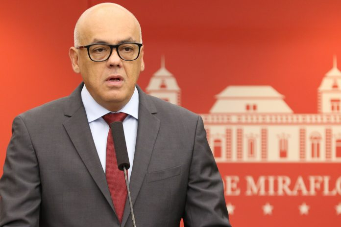 Bộ trưởng Truyền thông Venezuela Jorge Rodríguez. Ảnh: El Nacional