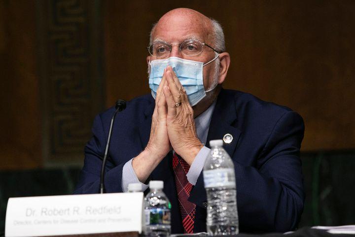 Giám đốc CDC Robert Redfield điều trần trước Quốc hội Mỹ tháng 7/2020 - Ảnh: AP