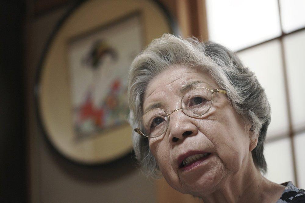 Bà Mari Kaneda chia sẻ rằng 75 năm sau chiến tranh, công lý cho những đứa trẻ mồ côi vẫn chưa được thực thi.
