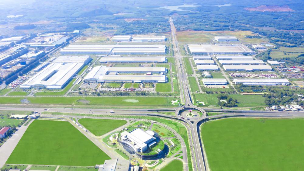Khu công nghiệp sản xuất linh kiện phụ tùng THACO Chu Lai