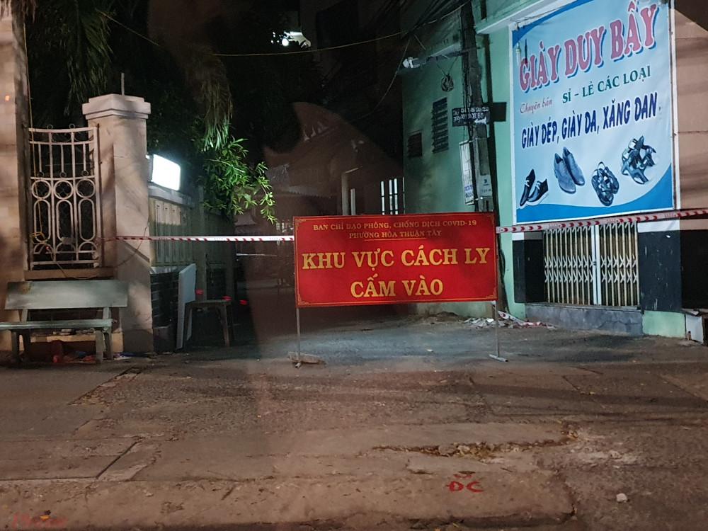 Tổ dân phố 26, P.Hòa Thuận Tây, Q.Hải Châu bị cách ly y tế