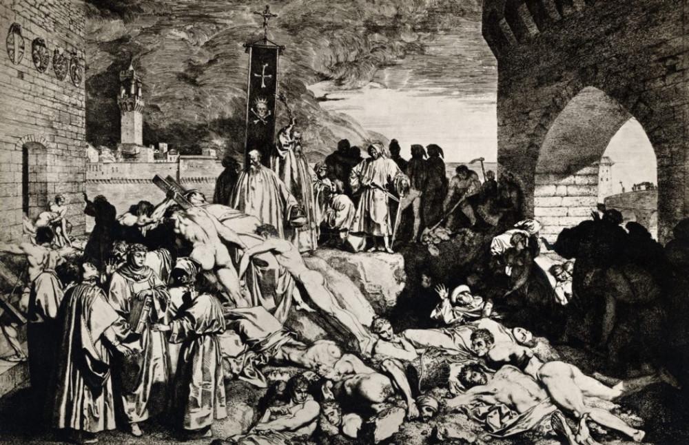 Bệnh dịch hạch mang tên Bubonic, (hay còn gọi là Cái Chết Đen trong thế kỷ XIV) - Ảnh: Getty Images