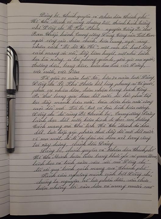 Những lời chia buồn của Bí thư Thành ủy Nguyễn Thiện Nhân đến gia đình nguyên Tổng bí thư Lê Khả Phiêu