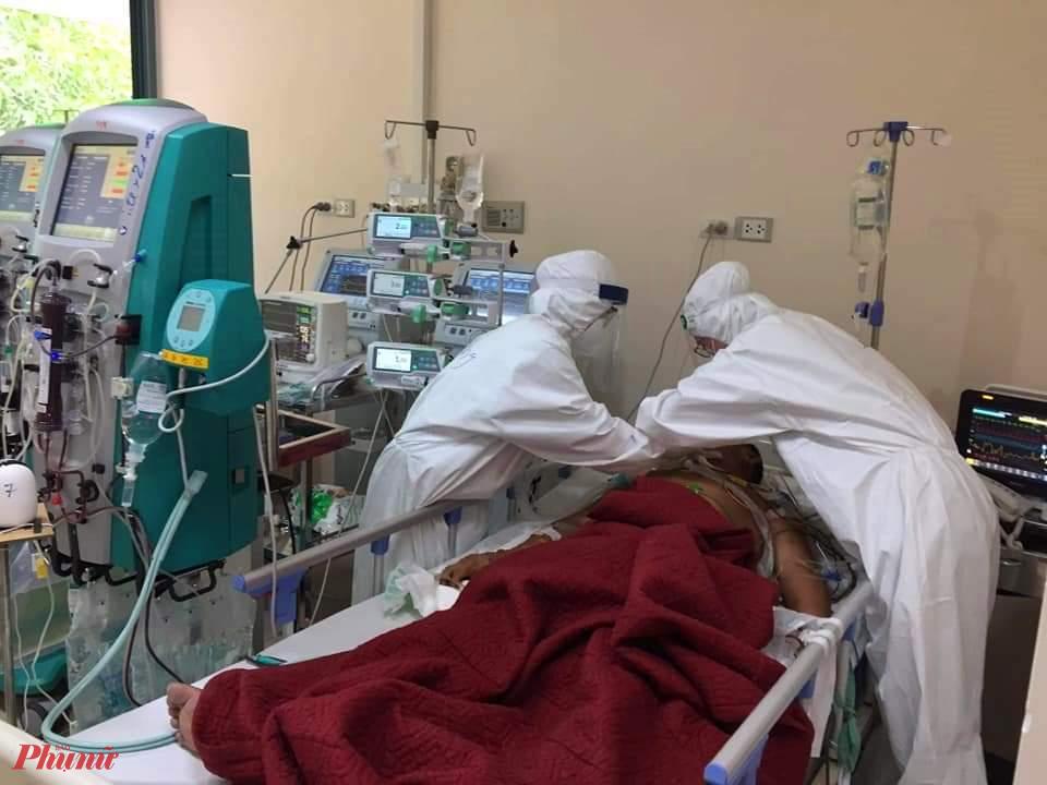 Hiện tại ở Cơ sở 2 Bệnh viện T.Ư Huế đang điều trị cho 12 bệnh nhân mắc COVID-19