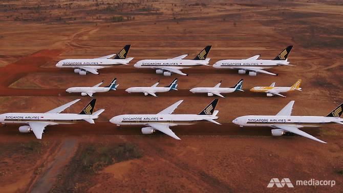 Việc cất giữ máy bay trở thành thách thức với các hãng hàng không khi ngừng hoạt động do dịch bệnh