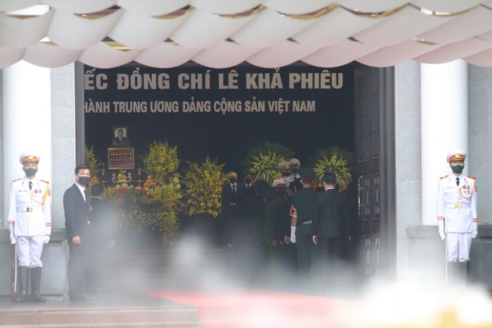 Hình ảnh tại Lễ tang