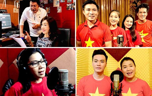 NSND Thoại Miêu và nghệ sĩ Thanh Tuấn sẽ cùng nhiều anh chị em đồng nghiệp xuất hiện trong MV Niềm tin.