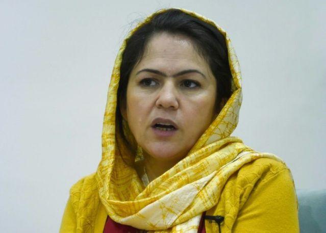 Bà Fawzia Koofi là một nhà vận động quyền phụ nữ và chính trị gia tiên phong của Afghanistan - Ảnh: AFP