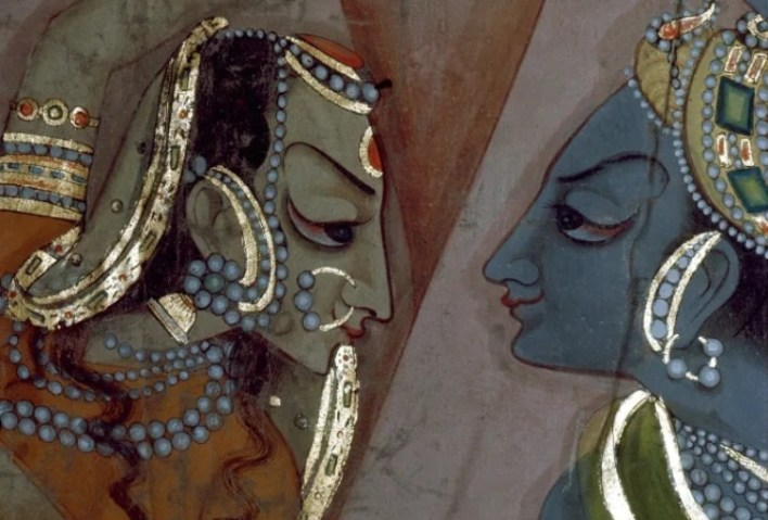 Một cảnh trong tác phẩm Mahabharata - Ảnh: Werner Forman/Universal Images Group/Getty Images