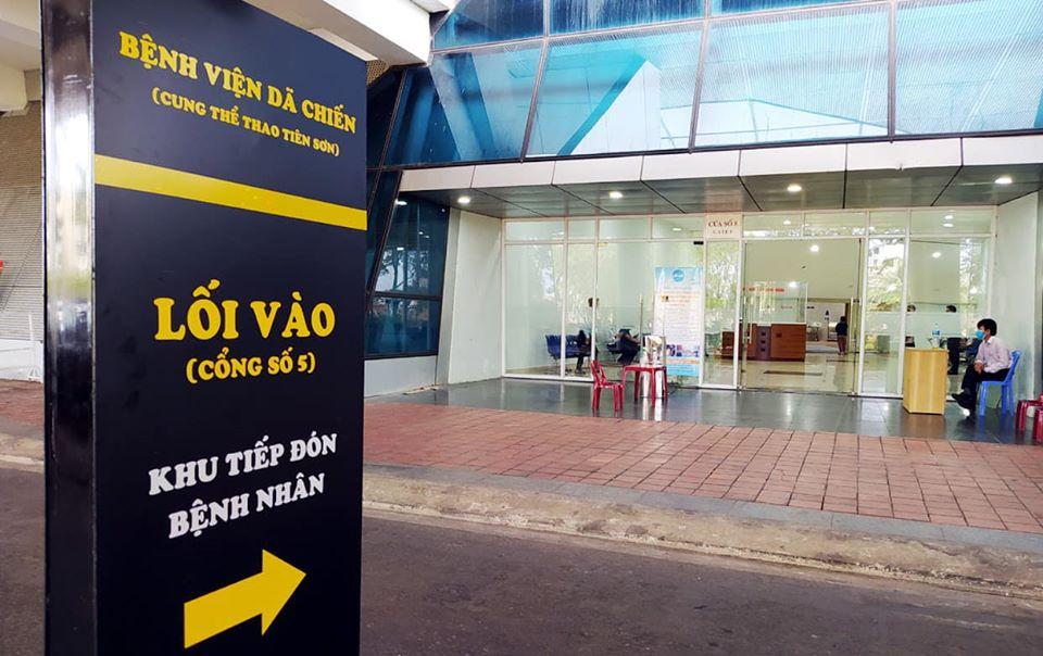 Bệnh viện dã chiến Tiên Sơn, quận Hải Châu, Đà Nẵng