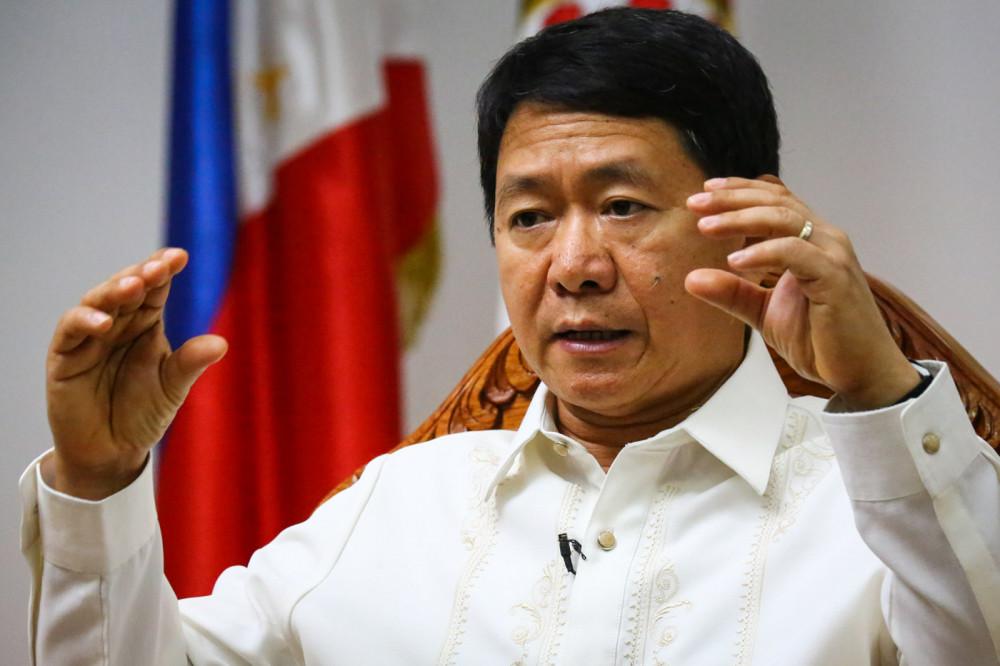 Bộ trưởng Nội vụ Philippines Eduardo Año từng trải qua đợt điều trị COVID-19 vào tháng 3/2020.