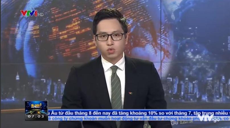 MC Q.A gọi những người bán hàng rong sống ký sinh trùng trong bản tin Tài chính Kinh doanh của kênh VTV1 phát sóng sáng 17.8