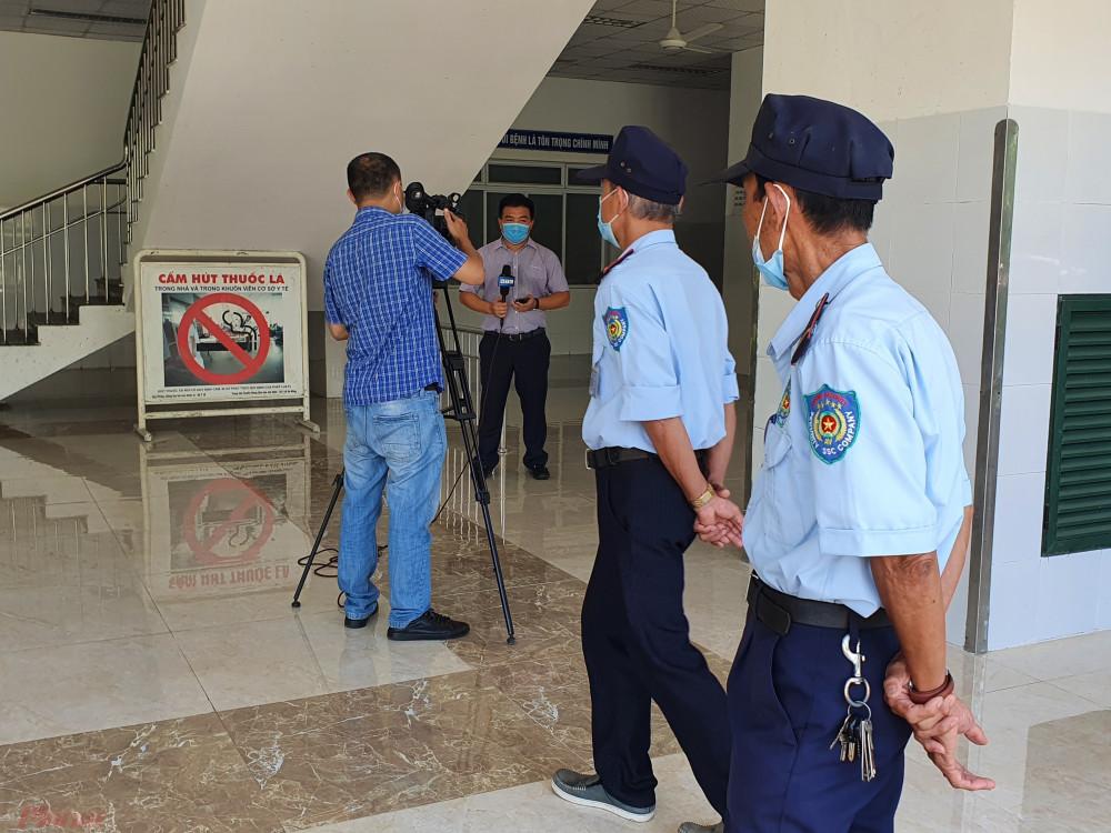 Bệnh nhân số 968 là bảo vệ Bệnh viện Đà Nẵng