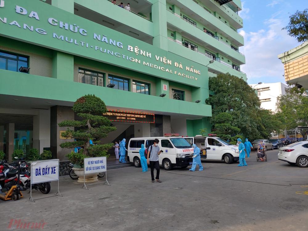 Chính quyền đang khẩn trương làm sạch Bệnh viện Đà Nẵng
