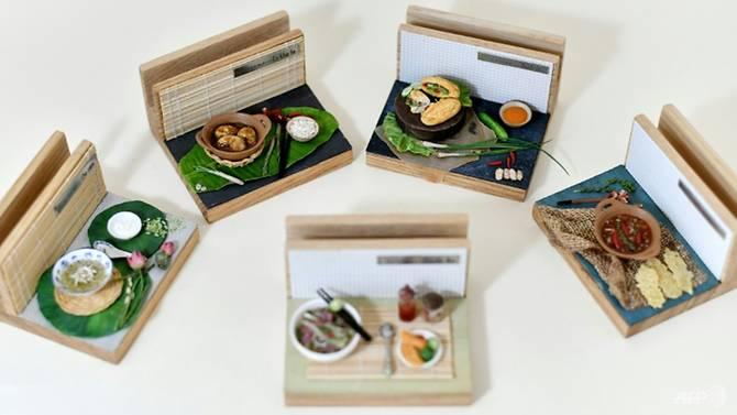 Mỗi mô hình đồ ăn thu nhỏ có giá khoảng 80 USD.