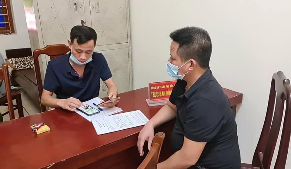 Chủ quán Nhắng nướng bị triệu tập lên làm việc tại Công an TP Bắc Ninh trước đó.