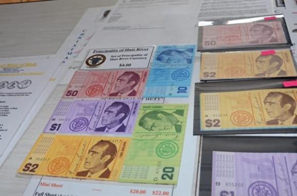 Tiền giấy do Công quốc Hutt River phát hành. Ảnh: internet