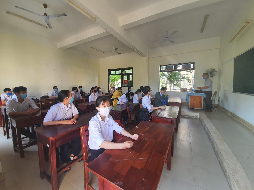Trong đợt thi tốt nghiệp THPT vừa rồi tại Quảng Nam, đã có đến 2 trường hợp F1 lọt vào phòng thi