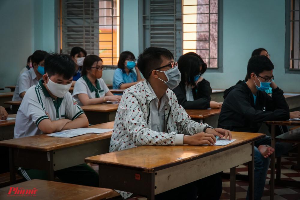 Thí sinh thi tốt nghiệp THPT đợt 1 - Ảnh Tam Nguyên