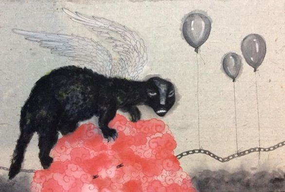 Tác phẩm của họa sĩ Hà Huy Mười
