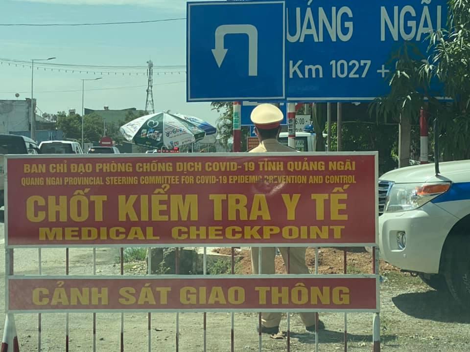 có 685 người Quảng Ngãi đang mắc kẹt tại Đà Nẵng đăng ký về quê